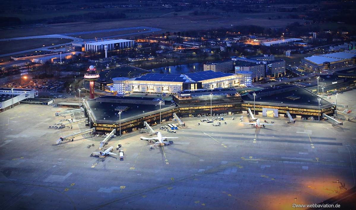 Flughafen Hannover Ankunft Radar