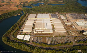 Daimler AG Global Logistic Center Germersheim Luftbild
