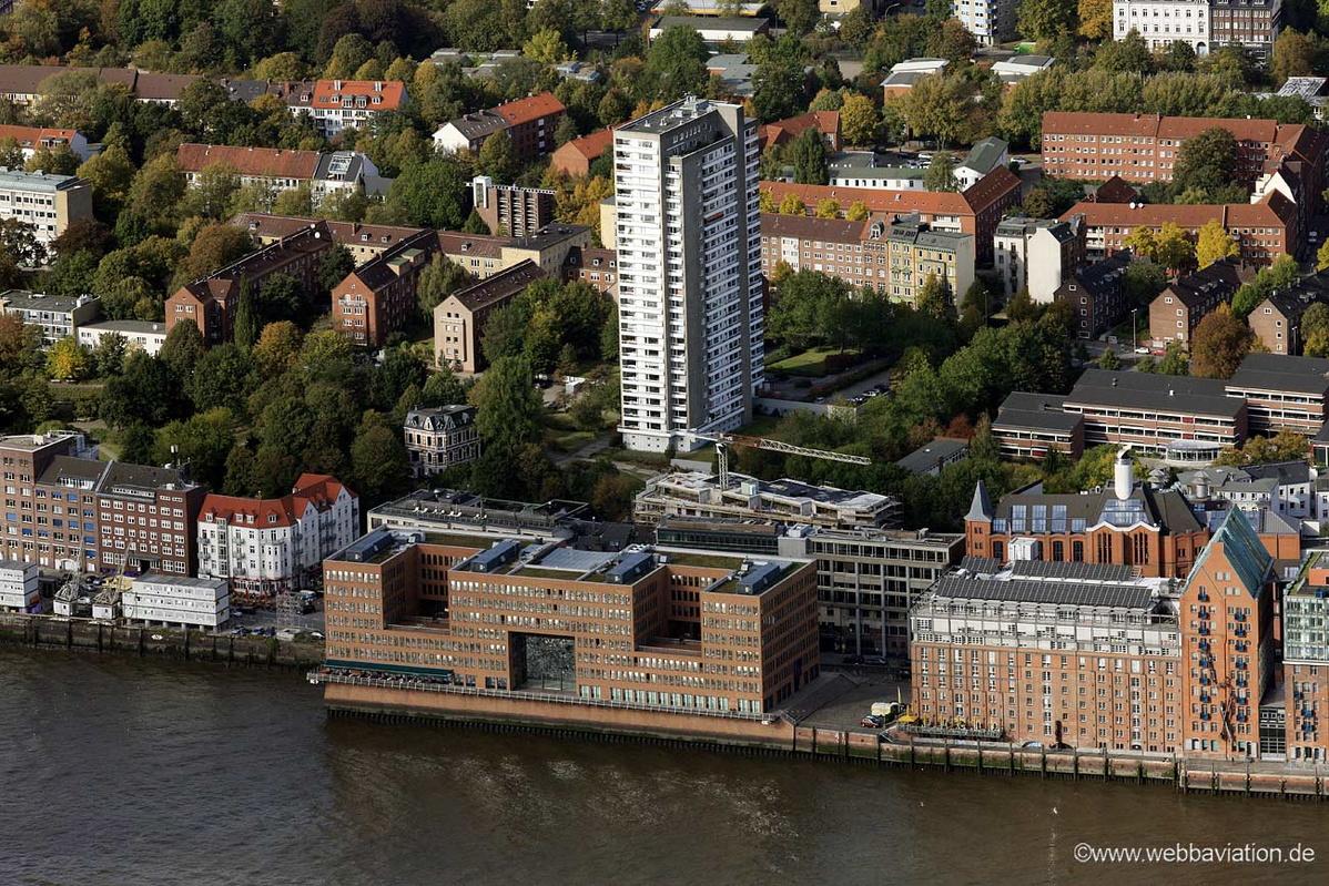Holzhafen ost hamburg luftbild luftbilder von for Architekten hamburg altona