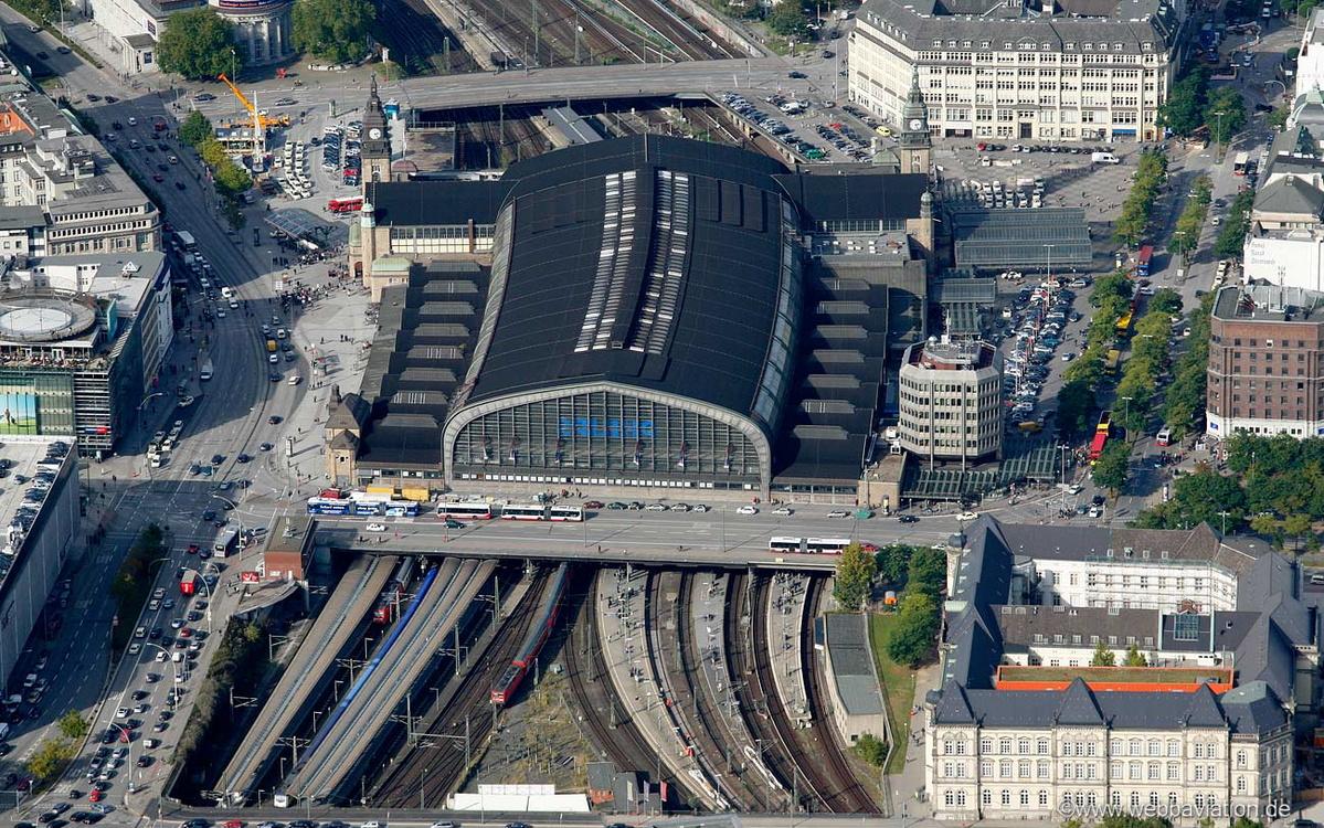 Gepäckaufbewahrung Hamburg Hbf