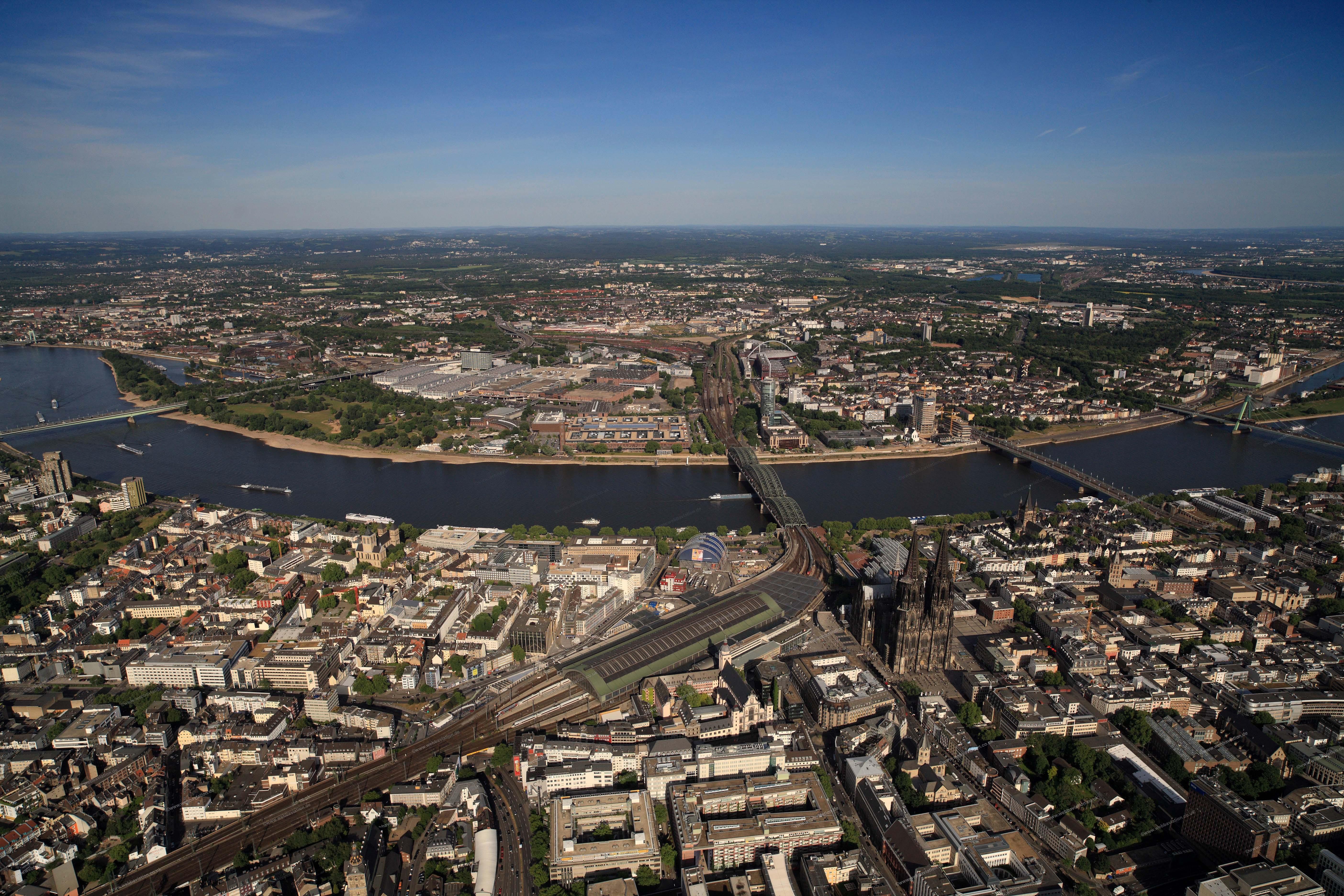 Köln köln luftbilder